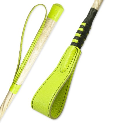 "Green whip of ""Soleil"" collection"
